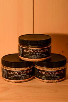 Plum Island Soap Co. - Almond Oatmeal Face Mask