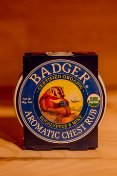Badger - Eucalyptus & Mint Aromatic Chest Rub