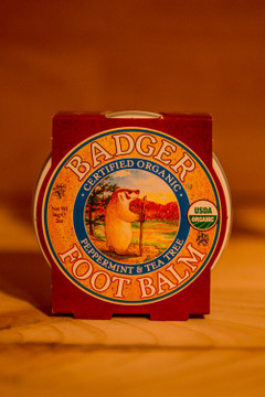 Badger - Peppermint & Tea Tree Foot Balm