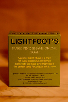 Lightfoot's - Shave Cream Soap