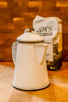 Enamelware Mini Coffee Pot
