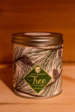 Aunt Sadie's - Tree in a Can Candle