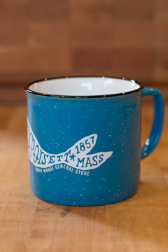TWGS Mattapoisett Whale Ceramic Cambria Mug (Sky Blue)