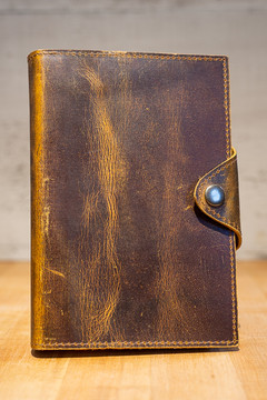 Kodiak Leather Co. - Drifter Leather Journal (Antique Brown)
