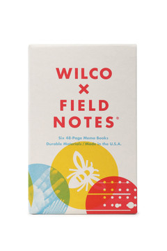 Field Notes - Wilco Set of 6 Memo Books
