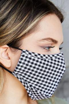 Plaid Face Masks