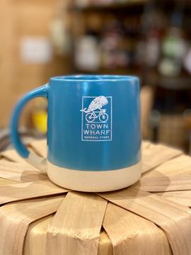 TWGS Ceramic Magnolia Mug - Pacific Blue