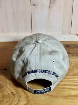 Mattapoisett & Seahorse Logo Baseball Hat - Bone Khaki