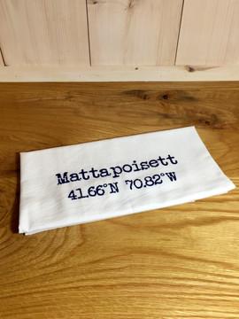 Mattapoisett Coordinates Dish Cloth - Navy Blue