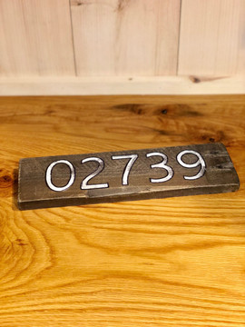 02739 Reclaimed Wooden Sign