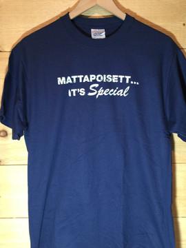 """Mattapoisett...It's Special"" Unisex Short Sleeve T-Shirt"