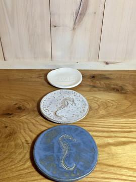 Blue Seahorse Tapas Dish