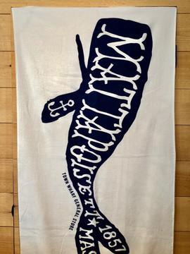 Mattapoisett Whale Beach Towel