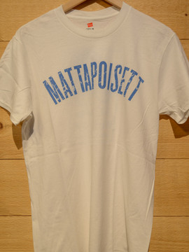 Mattapoisett collegiate shirt white