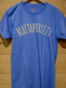 Mattapoisett collegiate shirt carolina blue