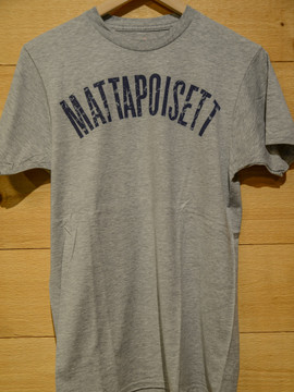 Mattapoisett collegiate shirt heather grey