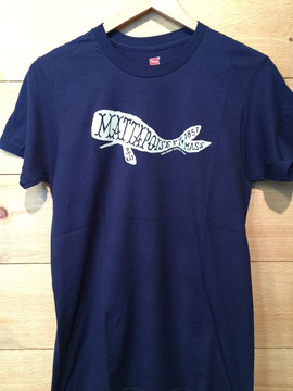 Mattapoisett Whale Unisex Short Sleeve T-Shirt