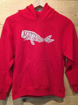 Mattapoisett Whale Kids Pullover Hoodie Sweatshirt