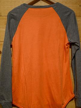 Mattapoisett Whale Women's Raglan Long Sleeve T-Shirt