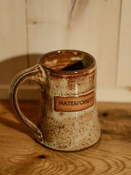 Large TWGS & Mattapoisett Handmade Mug by Ocean Fire Pottery