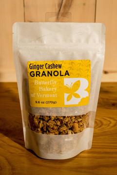 Butterfly Bakery of Vermont - Ginger Cashew Granola