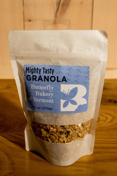 Butterfly Bakery of Vermont - Mighty Tasty Granola