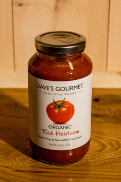 Dave's Gourmet - Organic Red Heirloom Pasta Sauce