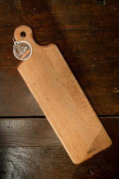 JK Adams - Maple Plank Serving Board w/ Mattapoisett Coordinates
