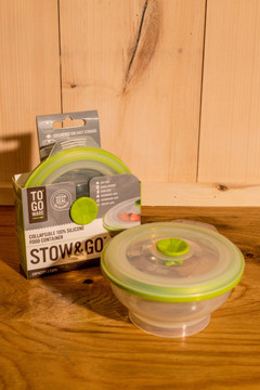 To-Go Ware - Stow & Go Silicone Food Container