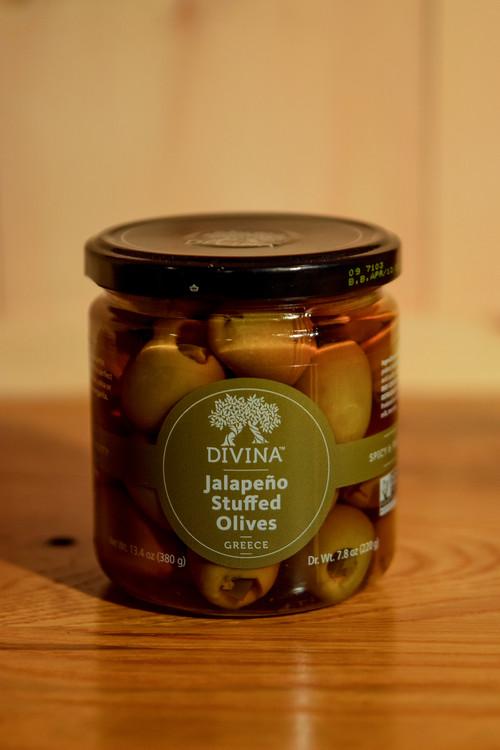 Divina - Jalapeno Stuffed Olives