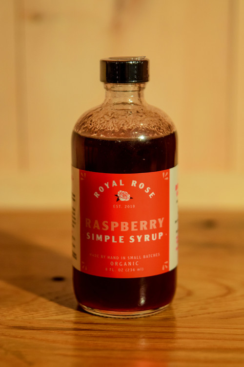 Royal Rose - Raspberry Simple Syrup