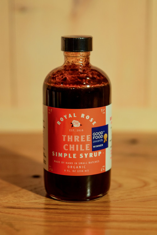 Royal Rose - Three Chile Simple Syrup