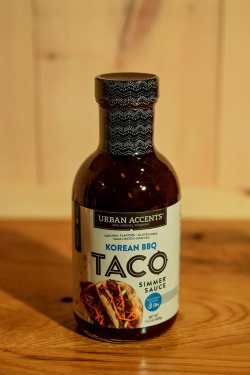 Urban Accents - Korean BBQ Taco Simmer Sauce