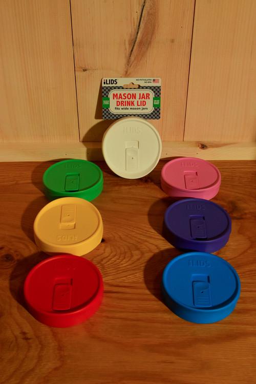 iLids - Mason Jar Drink Lid (Wide)