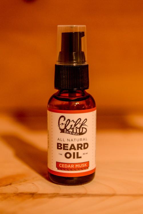 Cliff - Cedar Musk Beard Oil