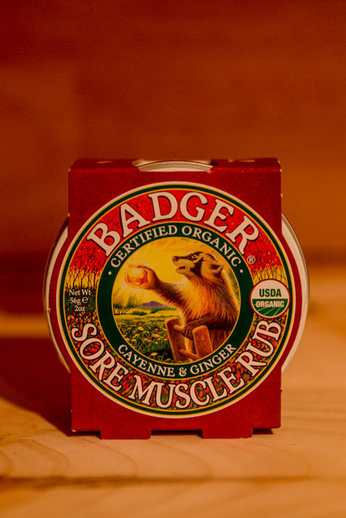 Badger - Cayenne & Ginger Sore Muscle Rub