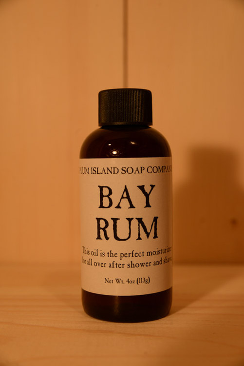 Plumb Island Soap Co. - Bay Rum Oil