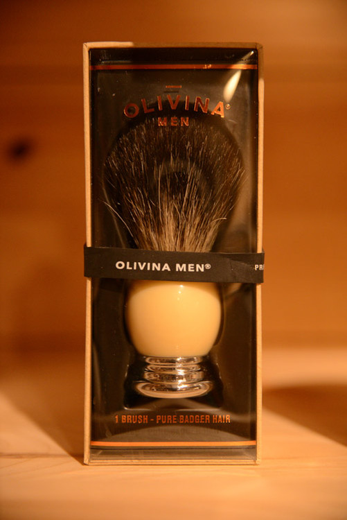 Olivina Men - Badger Hair Shave Brush