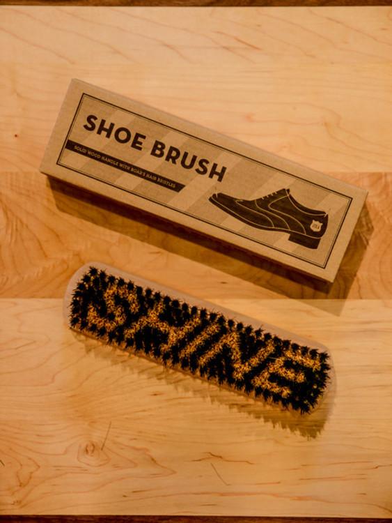 Solid Wood Shoe Brush