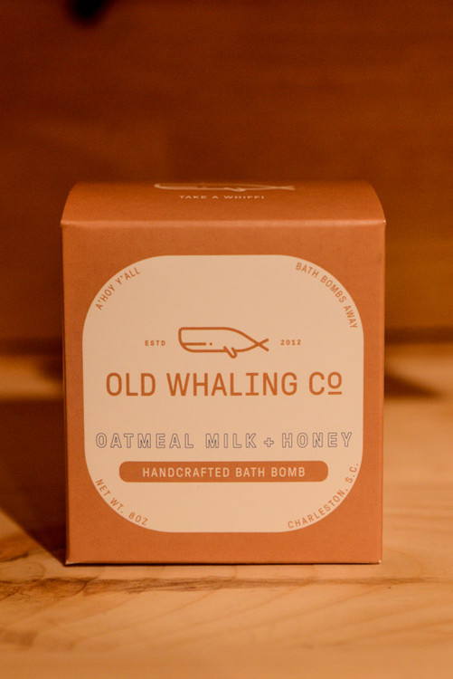 Old Whaling Co. - Oatmeal Milk + Honey Handcrafted Bath Bomb