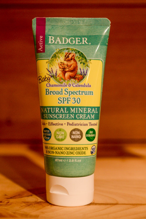 Badger - Chamomile & Calendula Baby Sunscreen