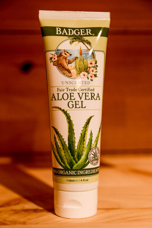 Badger - Fair Trade Aloe Vera Gel