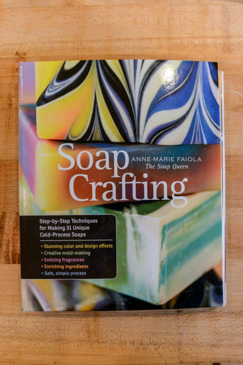Soap Crafting by Anne Marie Faiola