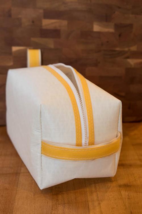 TWGS - Sail Cloth Dopp Kit (Yellow)