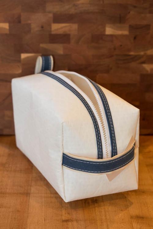 TWGS - Sail Cloth Dopp Kit (Slate Blue)