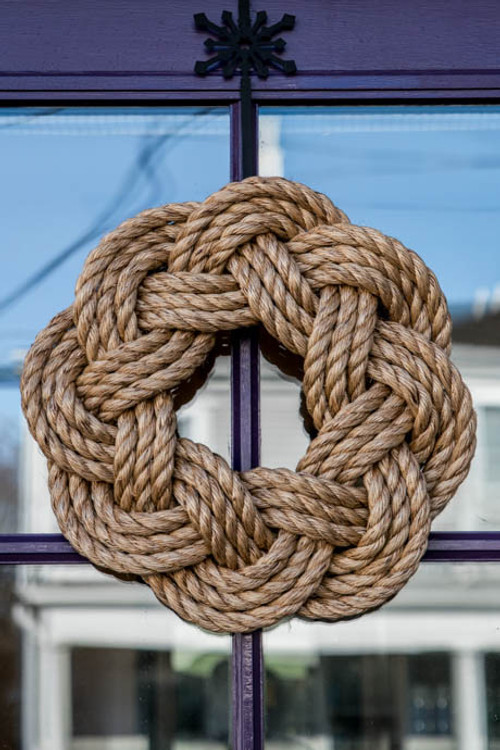Cannon Street Rope Wreath (Manila)