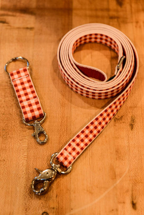 Harry Barker - Red 6 Foot Dog Leash