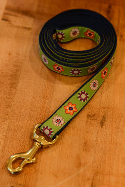 Up Country - Flower Field 6 Foot Dog Leash