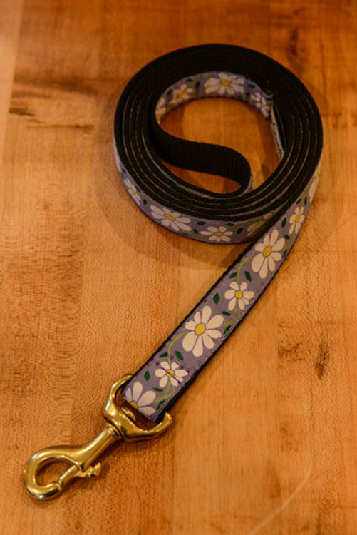 Up Country - Daisies 6 Foot Dog Leash