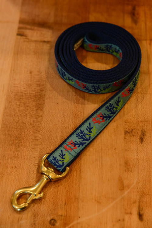 Up Country - Coral 6 Foot Dog Leash